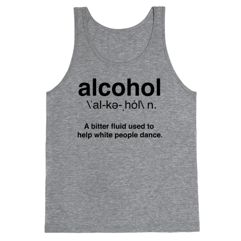Alcohol Definition Tank Top