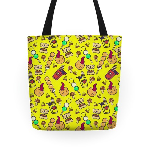 Japanese Snacks and Candy Tote