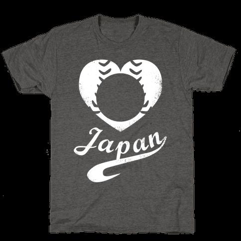 Japan Baseball Love (Red)