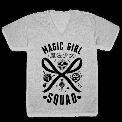 Magic Girl Squad V-Neck Tee Shirt