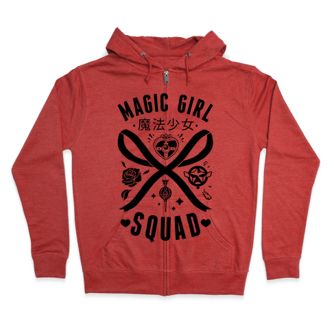 Magic Girl Squad Zip Hoodie