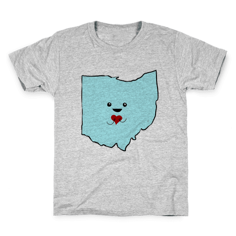 Cutie Ohio Kids T-Shirt