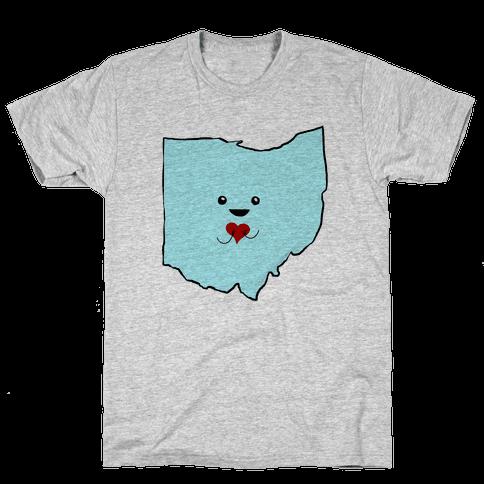 Cutie Ohio Mens T-Shirt