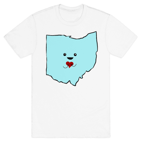 Cutie Ohio Mens T-Shirt