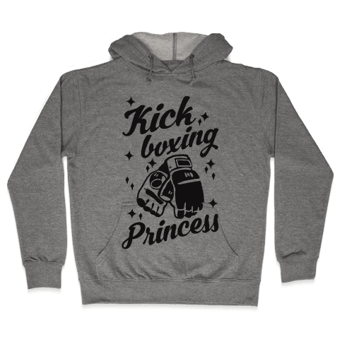 Kickboxing Princess Hooded Sweatshirt