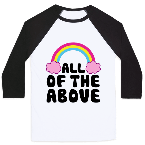 All Of The Above Baseball Tee