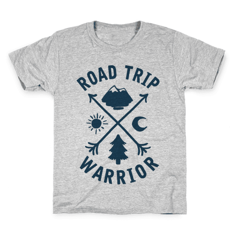 Road Trip Warrior Kids T-Shirt