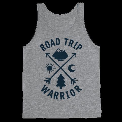 Road Trip Warrior Tank Top