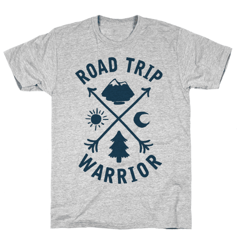 Road Trip Warrior Mens T-Shirt