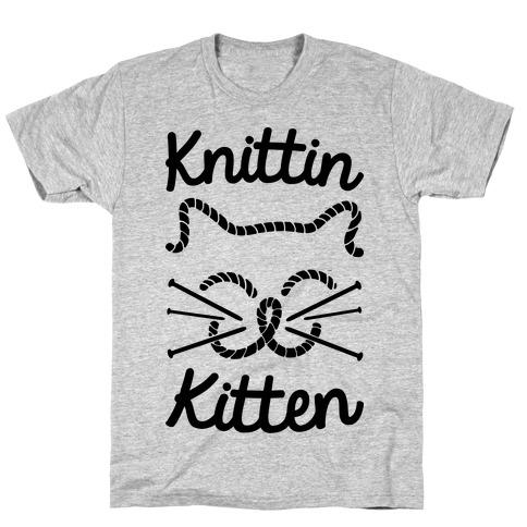 Knittin Kitten T-Shirt