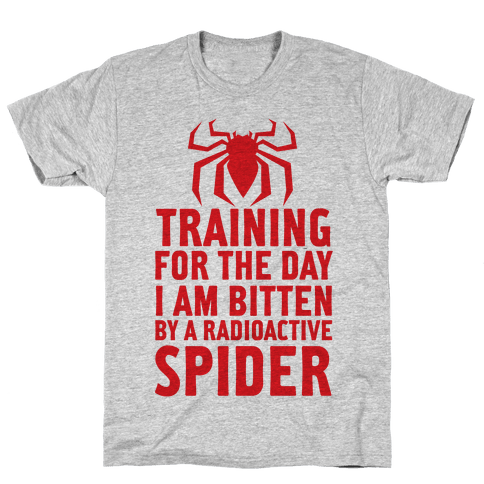 Training For The Day Mens T-Shirt