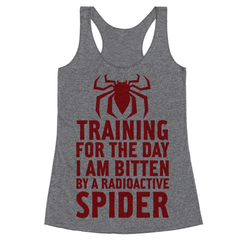 Training For The Day Racerback Tank Top
