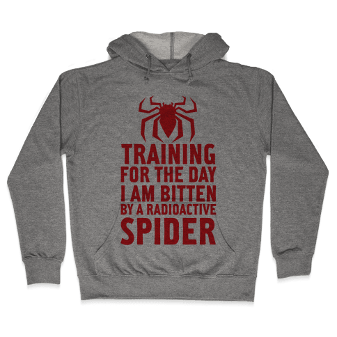 Training For The Day Hooded Sweatshirt