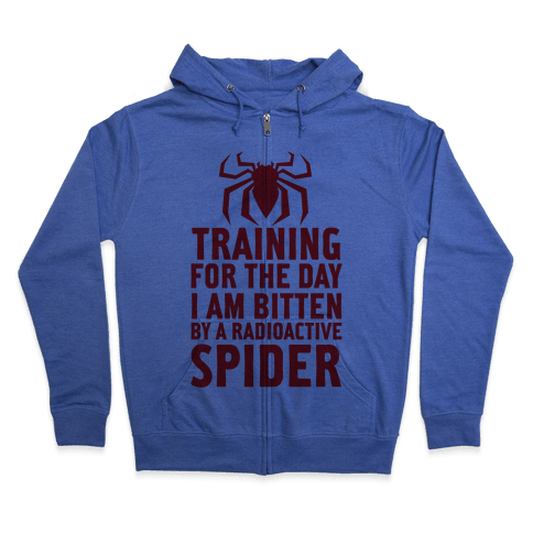 Training For The Day Zip Hoodie