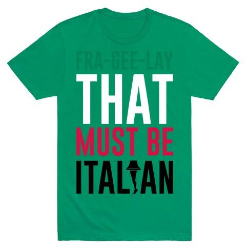 FRA-GEE-LAY Mens T-Shirt