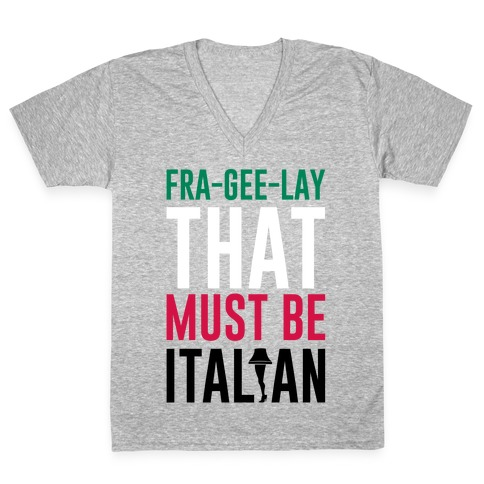 FRA-GEE-LAY V-Neck Tee Shirt