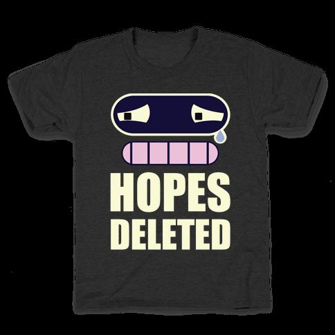 Hopes Deleted Kids T-Shirt
