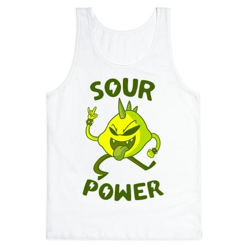 Sour Power Tank Top