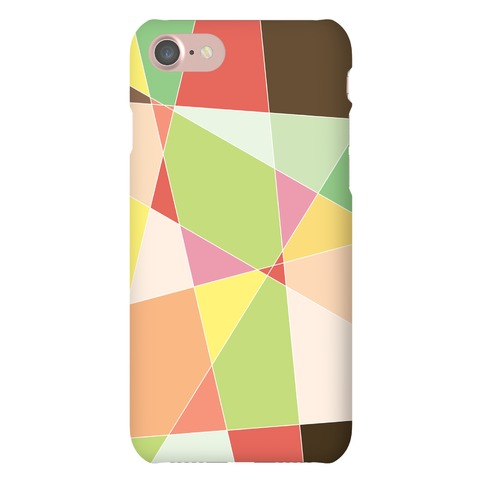 Geometric Mosaic Pattern Phone Case