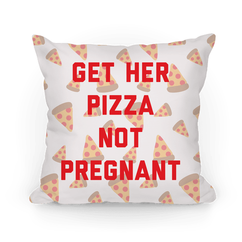 Get Her Pizza Pillow
