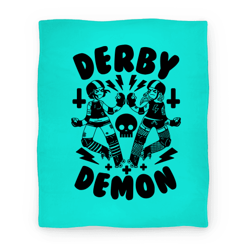 Derby Demon Blanket Blanket