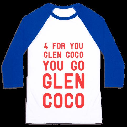 You Go Glen Coco Baseball Tee
