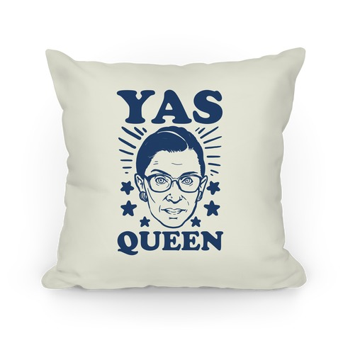 Yas Queen RBG Pillow