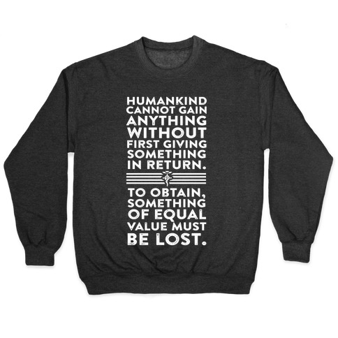 The First Law of Alchemy Pullover