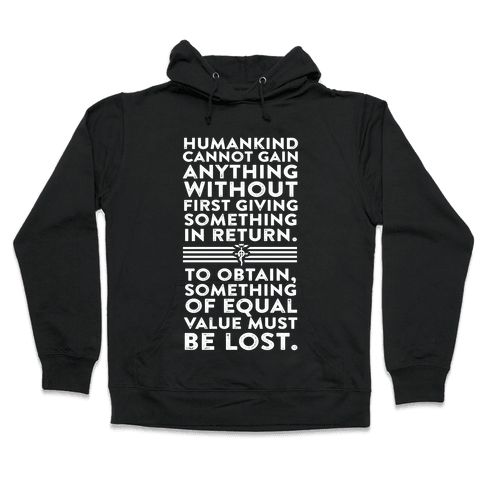 The First Law of Alchemy Hooded Sweatshirt