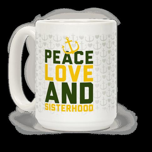 Green Peace Love And Sisterhood