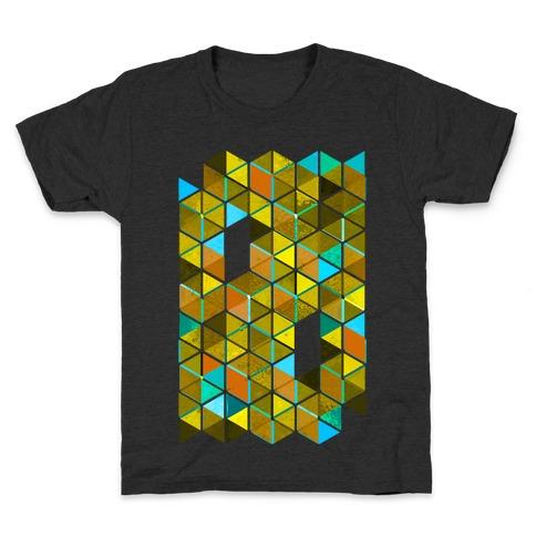 Colorful Tiles Kids T-Shirt