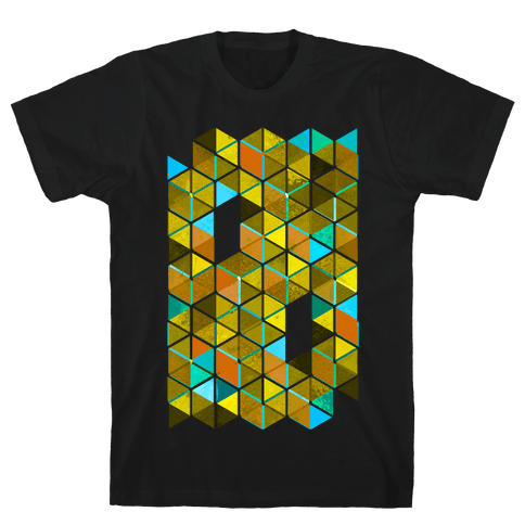 Colorful Tiles Mens T-Shirt