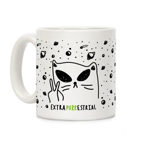 Extrapurrestrial Coffee Mug