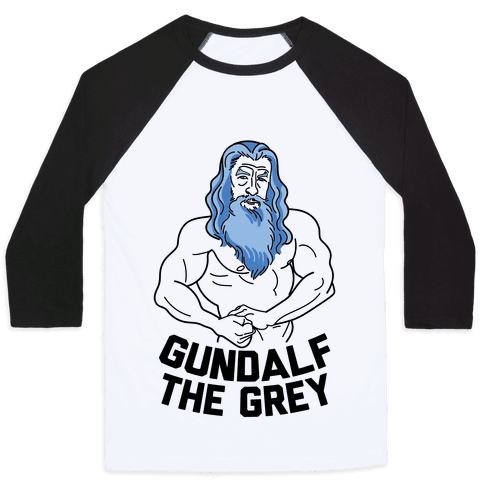 Gundalf The Grey Baseball Tee