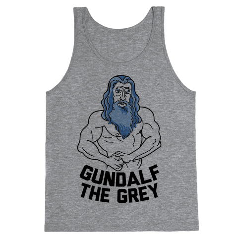 Gundalf The Grey Tank Top
