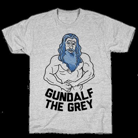 Gundalf The Grey Mens T-Shirt