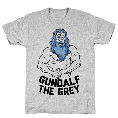 Gundalf The Grey Mens T-Shirt