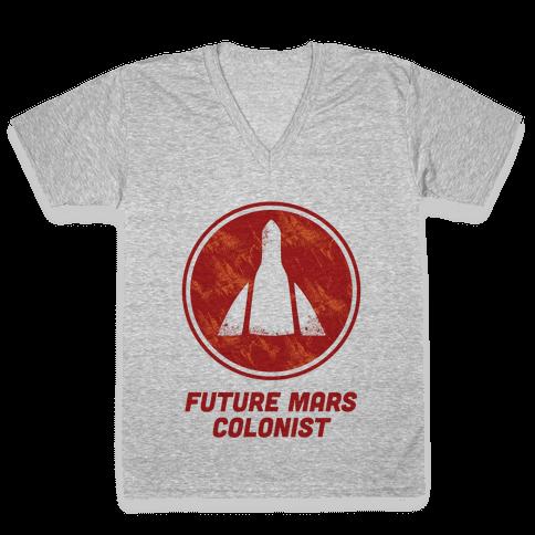 Baby Future Mars Colonist V-Neck Tee Shirt