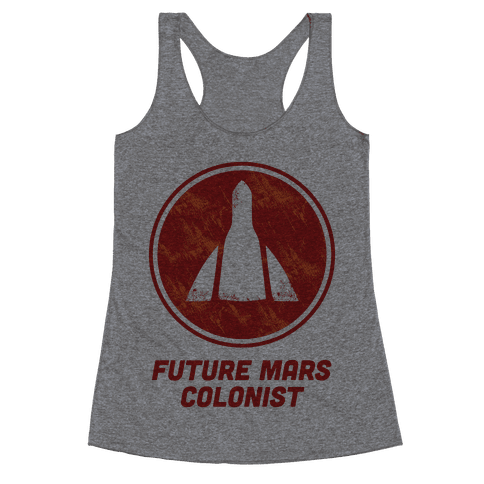 Baby Future Mars Colonist Racerback Tank Top