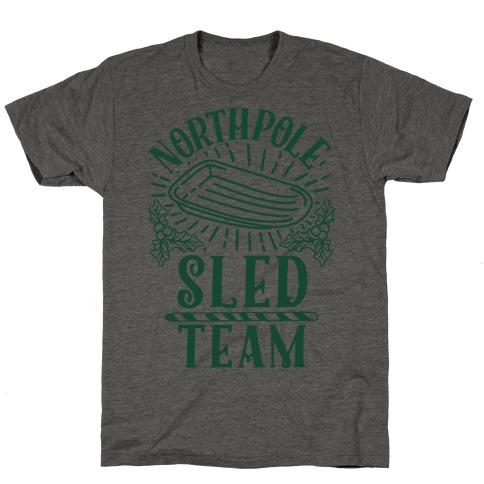North Pole Sled Team T-Shirt