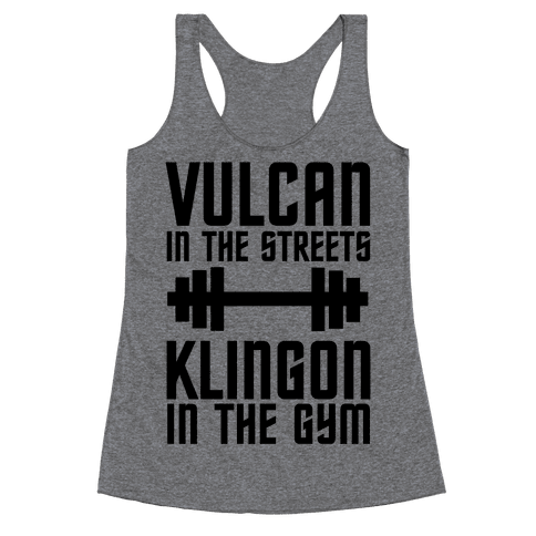 Klingon in the Gym