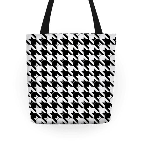 Catstooth Pattern Tote