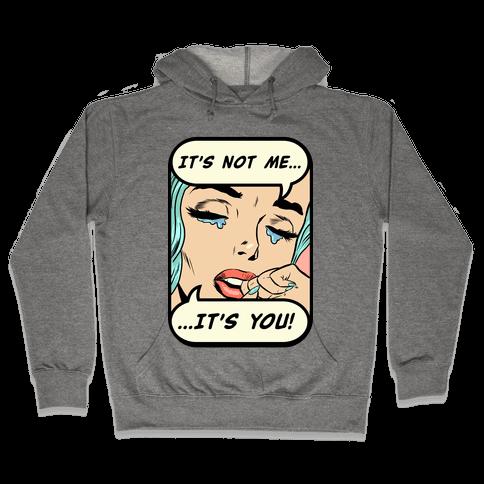 It's Not Me It's You Hooded Sweatshirt
