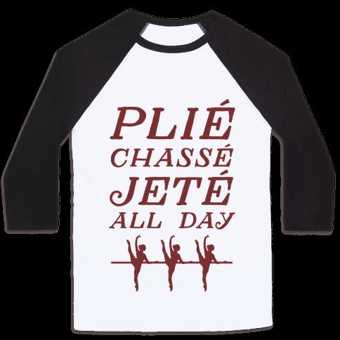 Pli Chass Jet All Day Baseball Tee