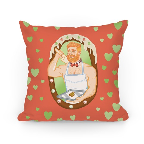 The Ginger Bread Man Pillow