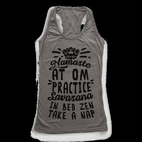 Namaste At Om Practice Savasana In Bed Zen Take A Nap