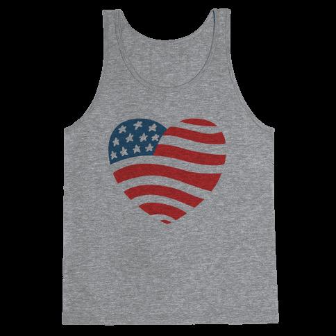 American Heart Tank Top