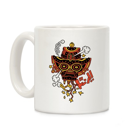 Broken Robot Head Coffee Mug