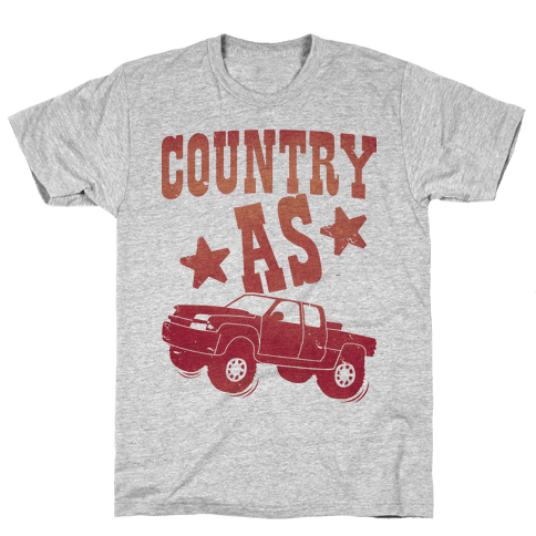 Country as Truck Mens T-Shirt