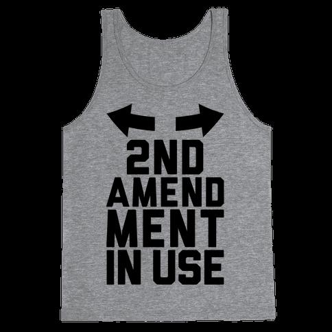 2nd Amendment In Use Tank Top